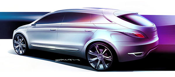 2006 Hyundai HED-2 Genus Concept