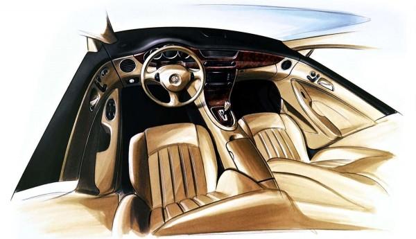 2003 Mercedes-Benz Vision CLS Concept Interior