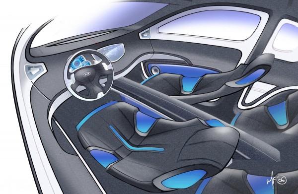 2006 Hyundai HCD10 Hellion Concept interior