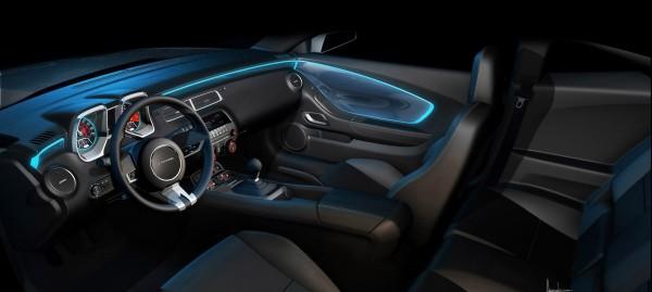 2010 Chevrolet Camaro RS Interior