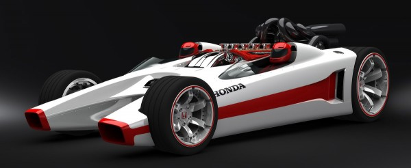2008 Honda Hot Wheels Racer Engine