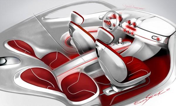 2007 Hyundai Veloster Concept Interior