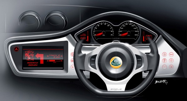 2009 Lotus Evora Interior