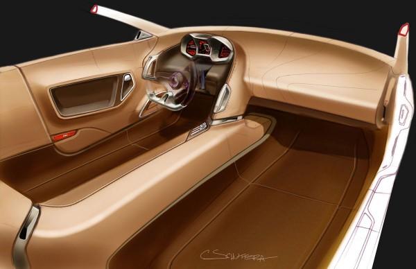2008 Mitsubishi RA Concept Interior