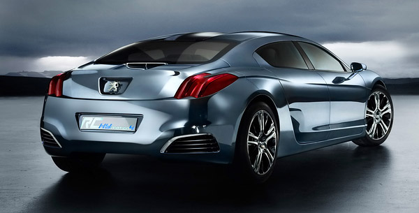 2008 Peugeot RC HYmotion4 Concept