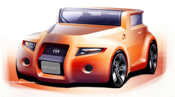 2008 Scion Hako Coupe Concept