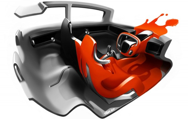 2008 Scion Hako Coupe Concept Interior