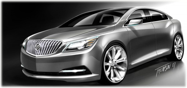2009 Buick Invicta Concept