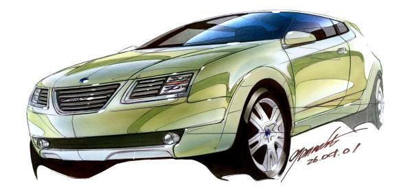 2002 Saab 9-3X Concept Car