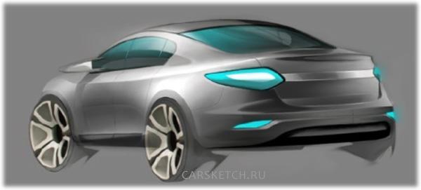 2010 Renault-Samsung eMX concept