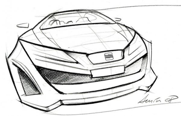 2008 Seat Bocanegra SportCoupe Concept
