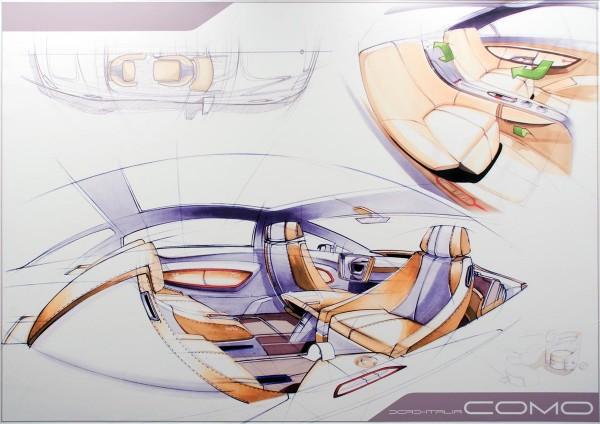 2007 Mercedes-Benz F700 Interior