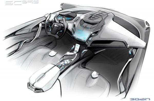 2009 Ford iosisMAX Concept Interior