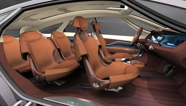 2008 Hyundai HED-5 i-Mode Concept Interior