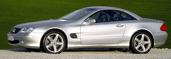 2003 Mercedes-Benz SL (w230)