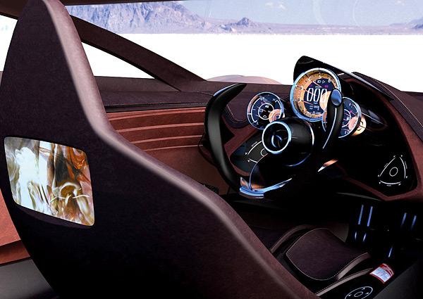 2006 Mazda Nagare Concept Interior
