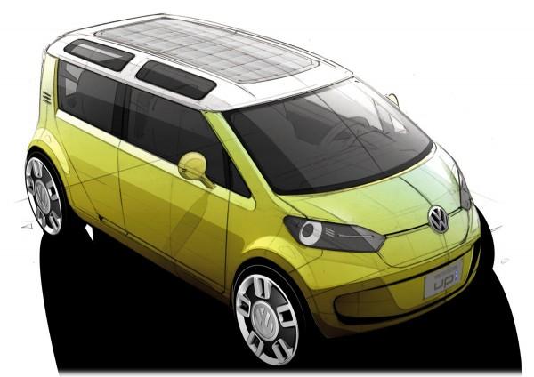 2007 Volkswagen Space Up Blue Concept