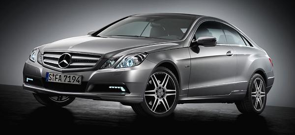 2010 Mercedes-Benz E-class Coupe Sketch