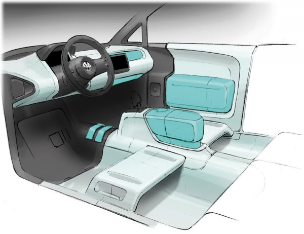 2007 Volkswagen Space Up Blue Concept Interior