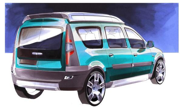 2006 Dacia Logan Steppe Concept