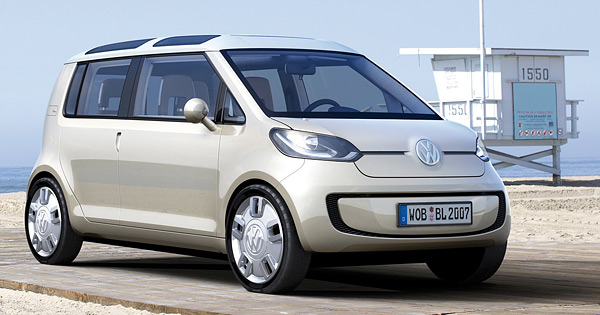 2007 Volkswagen Space Up Blue Concept