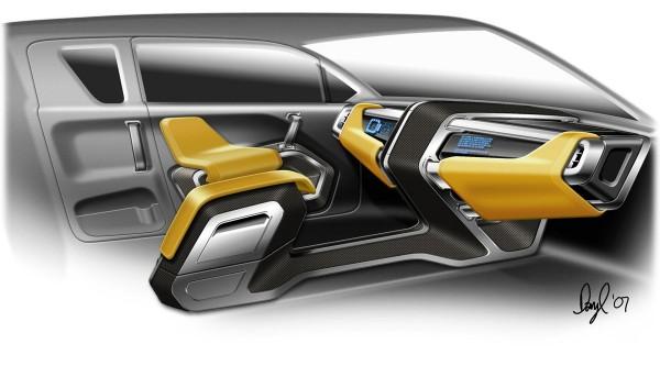2008 Toyota A-BAT Concept Interior