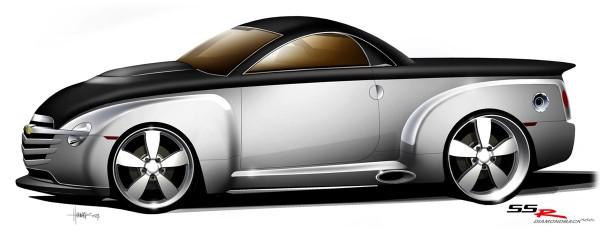 2004 ASC SSR Diamondback Chevrolet SSR Sketch