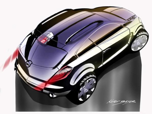 2005 Opel Antara GTC Concept Sketch