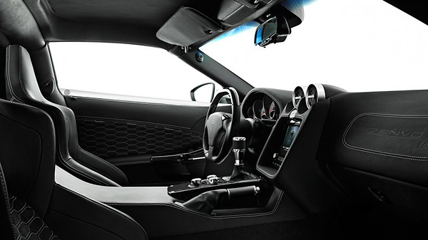 2009  Zenvo ST1 Interior Sketch