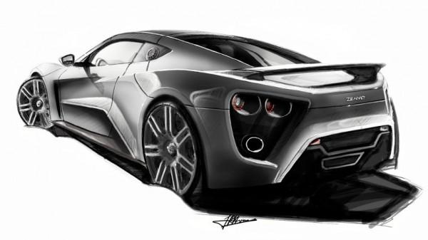 2009  Zenvo ST1 Sketch