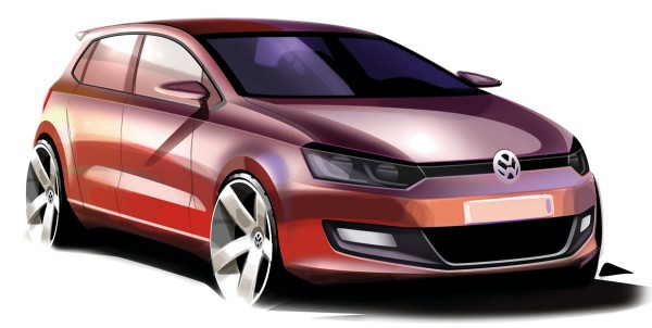 2009 Volkswagen Polo Sketch