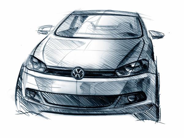 2009 Volkswagen Polo Sketch
