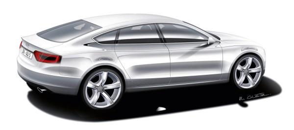 2009 Audi A5 Sportback Sketch