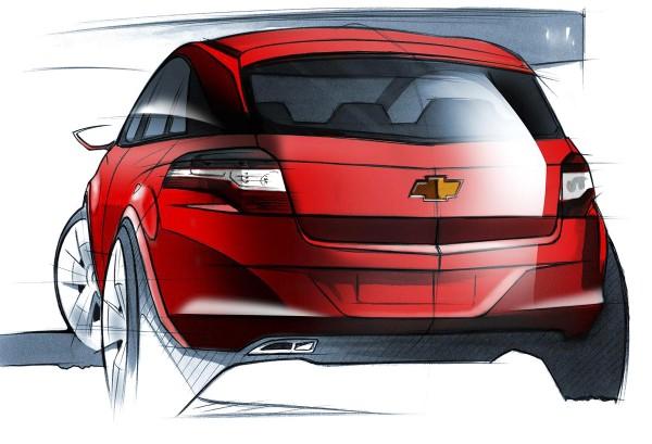 2010 Chevrolet Agile Sketch