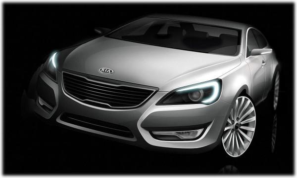 2009 Kia VG Sedan Sketch