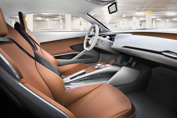 2009 Audi e-tron Concept Interior