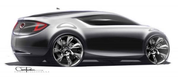 2009 Buick Avant Concept Sketch