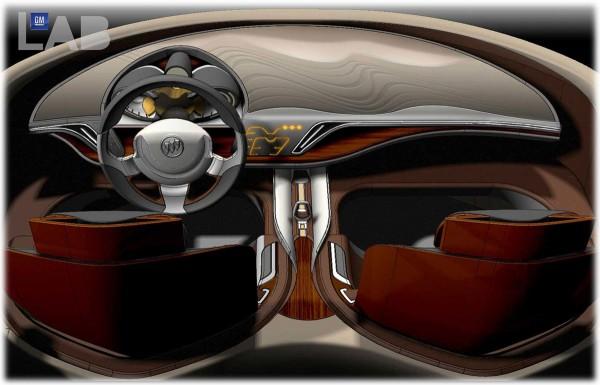 2009 Buick Avant Concept Interior Sketch
