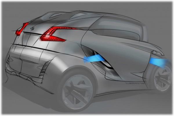 2009 Peugeot BB1 Concept Sketch