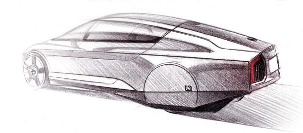 2009 Volkswagen L1 Concept Sketch