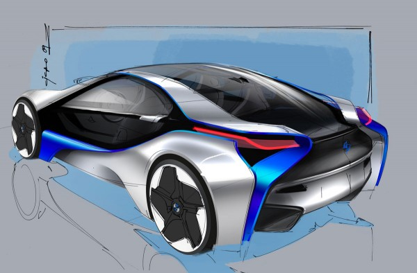 2009 BMW Vision EfficientDynamics Sketch