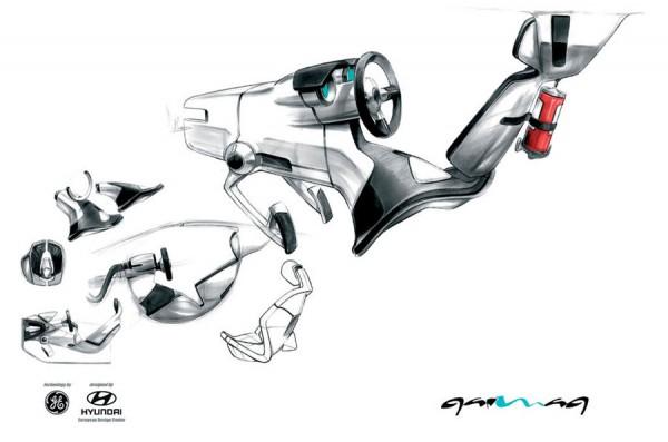 2007 Hyundai QarmaQ Concept Sketch