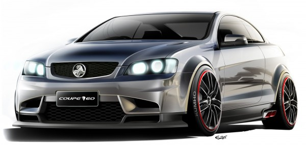 2008 Holden Coupe 60 Concept Sketch