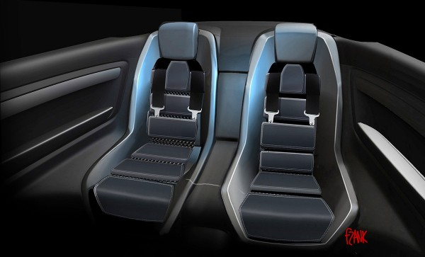 2008 Holden Coupe 60 Concept Interior Sketch