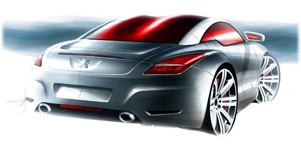 2011 Peugeot RCZ - Design Sketch