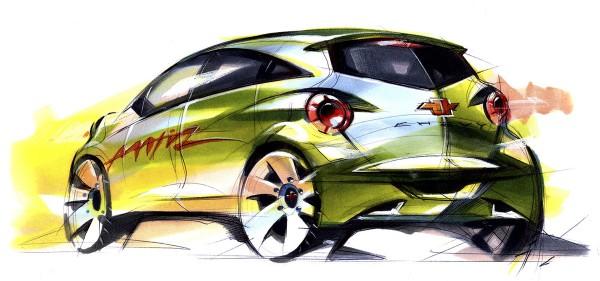 2010 Daewoo Matiz Creative Sketch