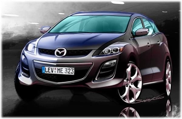 2010 Mazda CX-7 Sketch