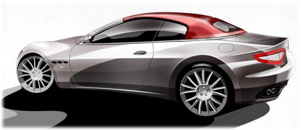 2011 Maserati GranCabrio Sketch
