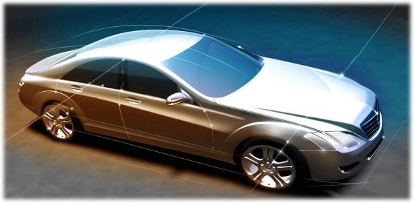 2006 Mercedes-Benz S-Class Sketch