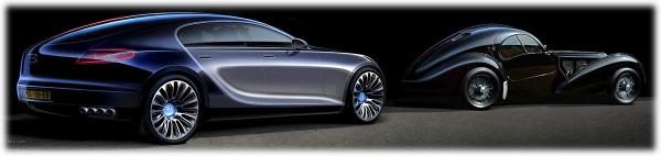 2009 Bugatti 16C Galibier Concept Sketch